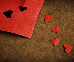 hearts, heart, and Paper image