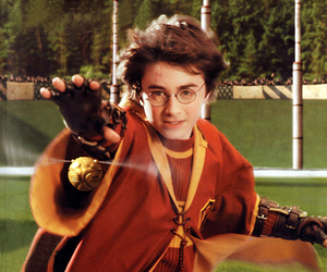 harry potter, quidditch, and daniel radcliffe image