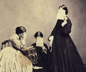 19th century and horror image