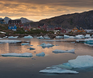 greenland, landscape, and nature image