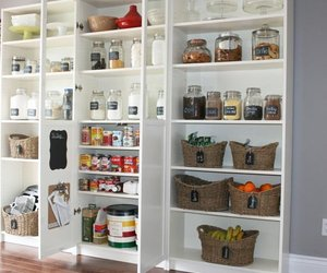 kitchen, pantry designs, and pantry ideas image