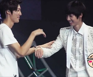 boyfriend, youngmin, and jo twins image