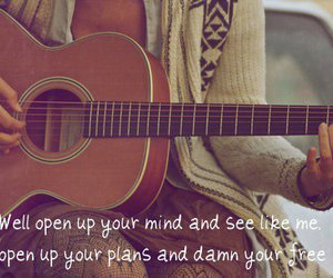 guitar and text image