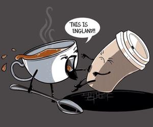 tea, england, and funny image