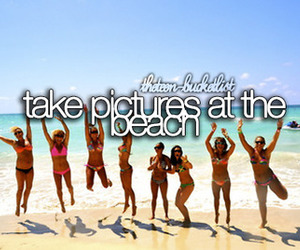 beach, pictures, and bucket list image