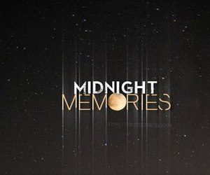 one direction, midnight memories, and memories image