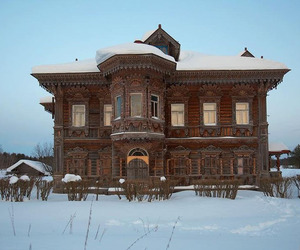 architecture, russia, and abandoned image