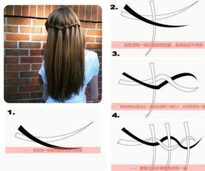 hair, tutorial, and hairstyle image