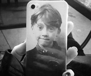 harry potter, iphone, and ron image