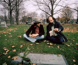 Allen Ginsberg, bob dylan, and Jack Kerouac image