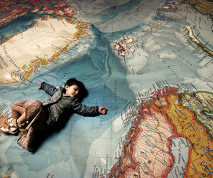 world, map, and child image