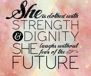 girl, quotes, and strength image