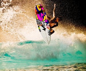 julian wilson, surf, and surfer image