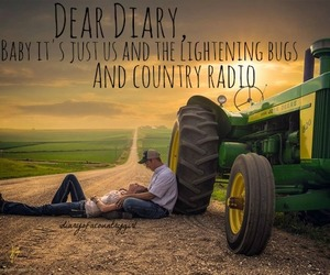 country, couple, and diary image