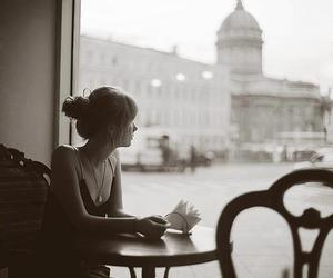 coffee, photography, and black and white image