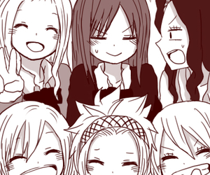fairy tail, levy, and cana image
