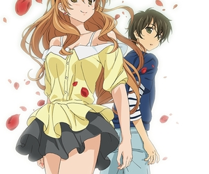 golden time and anime image