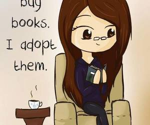 book, reading, and adopt image