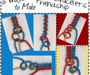 diy, bracelet, and friendship image
