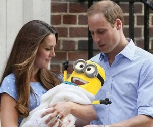 minions, funny, and baby image