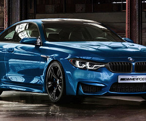 blue, bmw, and m4 image
