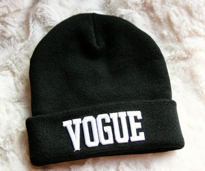 vogue, beanie, and fashion image