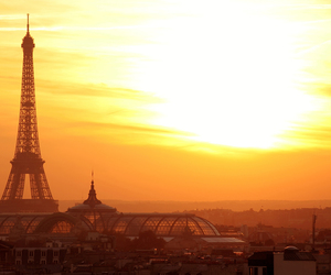 france, morning, and paris image