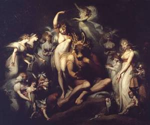 shakespeare, henry fuseli, and painting image