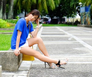 asian, girl, and shoes image