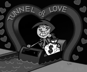 love, money, and funny image