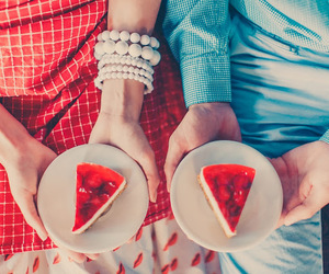 strawberry, sweet, and yummy image