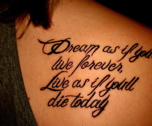 tattoo, Dream, and live image