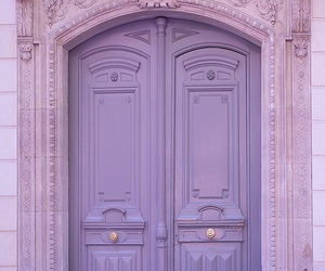 doors, purple, and intricate image