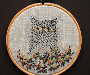 embroidery, handmade, and helloween image