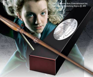 harry potter, luna lovegood, and wand image