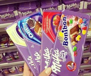 chocolate, milka, and oreo image
