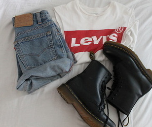 levis, outfit, and style image