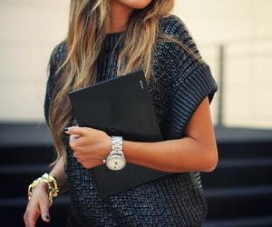 black, bracelet, and d image