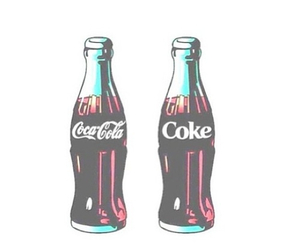 coke, overlay, and coca cola image