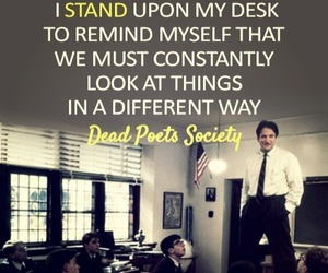 quote, dead poets society, and movie image