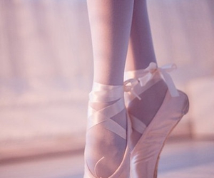 ballerina, ballet, and point image