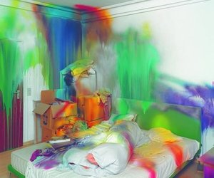 colours and room image