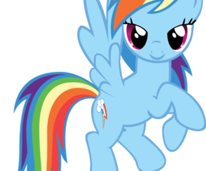 Flying, mlp fim, and rainbow dash image