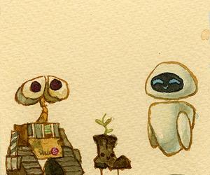 wall-e, cute, and disney image