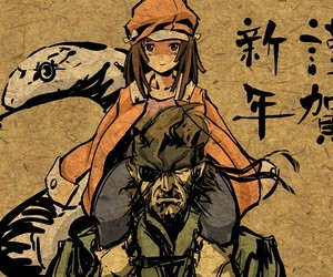 anime, couple, and metal gear solid image