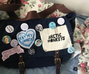 arctic monkeys, bag, and indie image