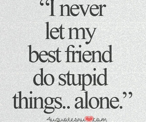alone, quotes, and friends image