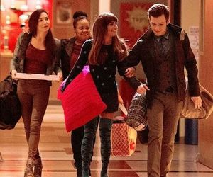 glee, kurt, and lea michele image