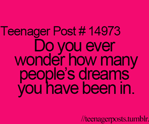 teenager post, Dream, and quote image