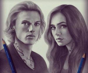the mortal instruments, drawing, and draw image